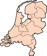 Map: Provincies van Nederland